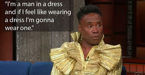 Billy Porter Thinks There Big Problem With How