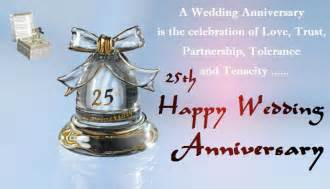 25th wedding anniversary wishes 25th silver jubilee anniversary wishes cards festival chaska