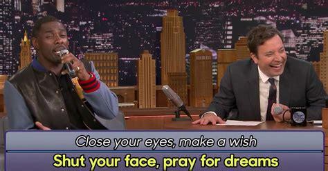 Idris Elba croons a hilarious Google translated version of ...