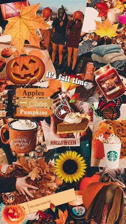 Aesthetic Halloween Fall Iphone Backgrounds Autumn Wallpapers