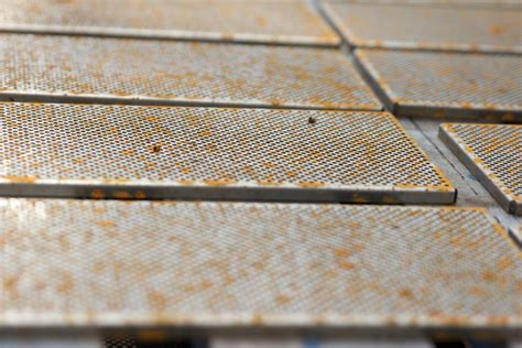 rust rusted grills