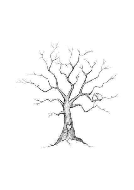 Pin by Anissa Braddock on SVG | Family tree drawing, Tree