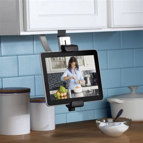 porte tablette cuisine blogue presto belkin lance le chef stand une station d