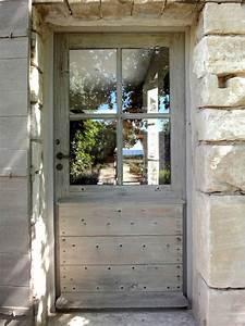 porte vitree avec volet a la provencale portes d39entree With porte d entrée provencale