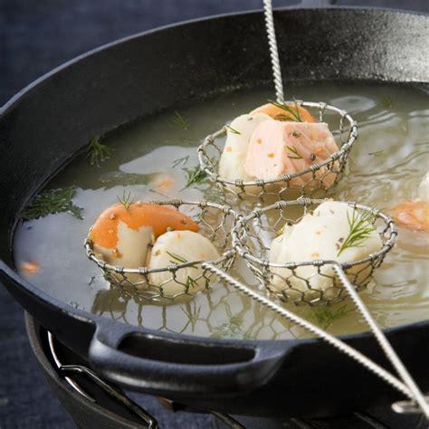 cuisine chinoise poisson fondue légère de poissons et noix de st jacques maggi
