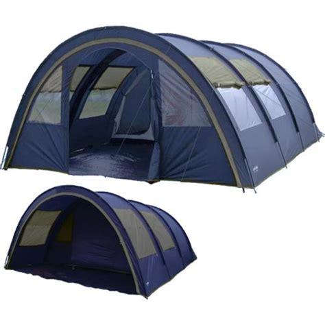 tente tunnel 3 chambres freetime tentes dôme familiale 6 places tente de