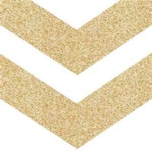 Gold Glitter Chevron Arrow Clip Art