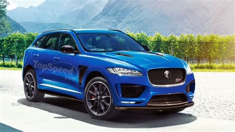 2018 Jaguar Fpace Svr Review  Top Speed