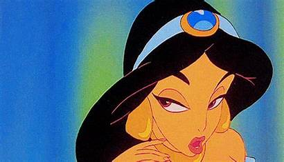Jasmine Princess Disney Jazmin Gifs Princesa Animation