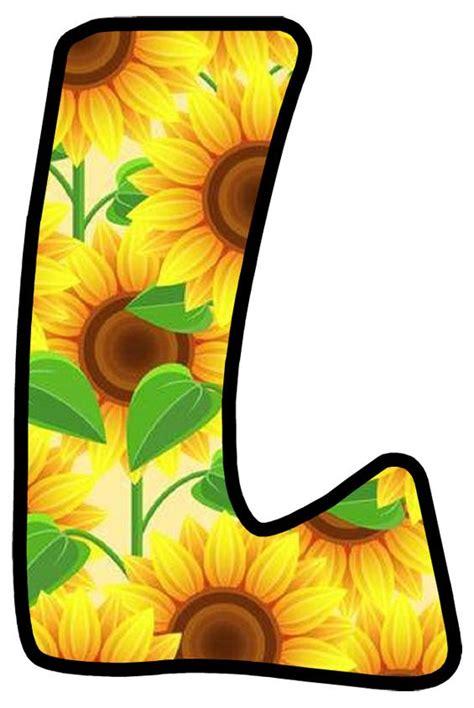buchstabe letter  fall scrapbook sunflower tree alphabet  numbers