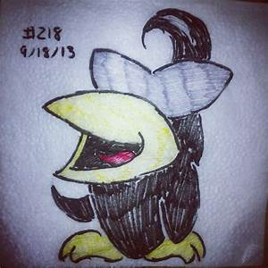 Napkin Art 218 - The Spiteful Crow - Earthbound by ...