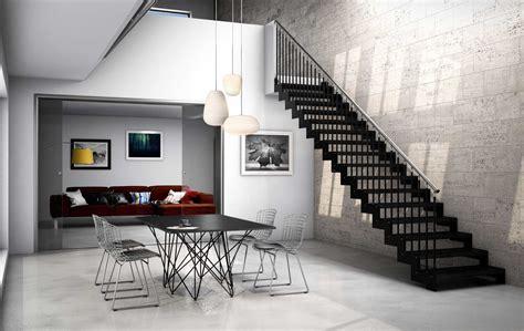 rexal scale interne moderne  legno scegli  modelli