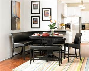 papario nook counter height dining table  homelegance