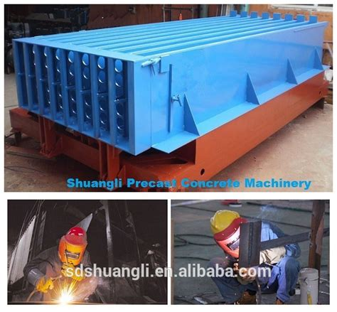 precast concrete hollow wall panel machine