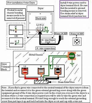 3 And 4 Wire Dryer Diagram 27794 Centrodeperegrinacion Es