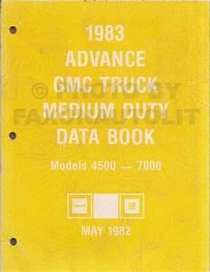 1983 Chevrolet And Gmc Medium Duty C50 C60 C70 Gas Wiring Diagram Original C5000 C6000 C7000
