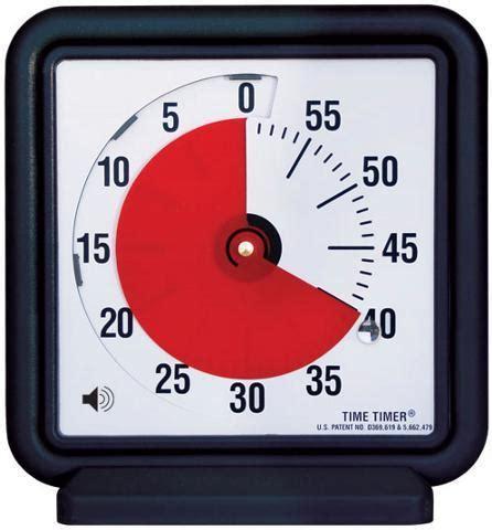 Audible Time Timer 3 Inch Visual Desk Timer