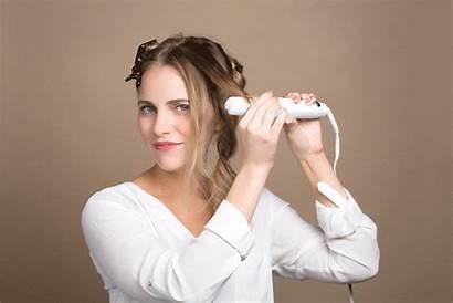 Iron Bouncy Curls Beachy Flat Hair Sheer