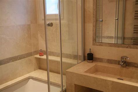 carrelage marbre salle de bain carrelage marbre beige bb adouci atout kro