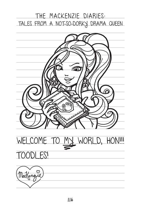 dork diaries  book  rachel renee russell official publisher page simon schuster