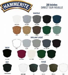 HAMMERITE - martelé châtaigne - 0,75 L