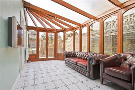 How Much Is A Sunroom Extension by Wood Timber Oak Mahogany Conservatories Huddersfield