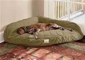 Deep dish corner dog bed orvis puppy love pinterest for Corner dog bed memory foam