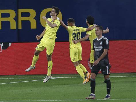 Real Madrid boss Zinedine Zidane sees draw at Villarreal ...