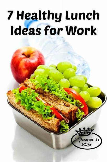 Healthy Lunches Lunch Proverbs Wife Snack Aproverbs31wife