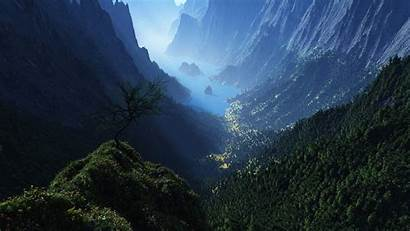 Wallpapers Mountain Valley
