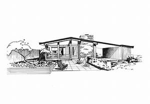modern house sketch design front view – Modern House