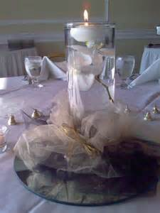 50th Wedding Anniversary Table Centerpiece Ideas