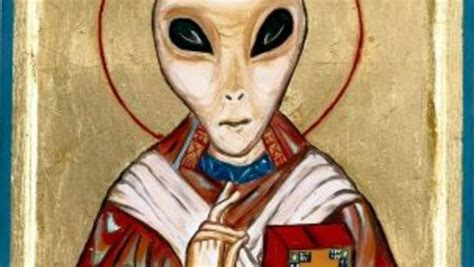 Image result for THE POPE WOULD BAPTIZE ALIENS
