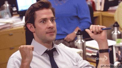 Finder Yes by Jim Halpert Yes Gif Finder Find And