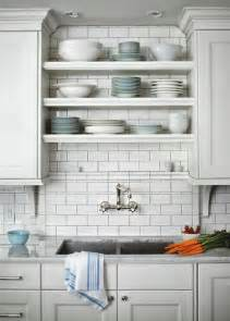 Shelving above Kitchen Sink