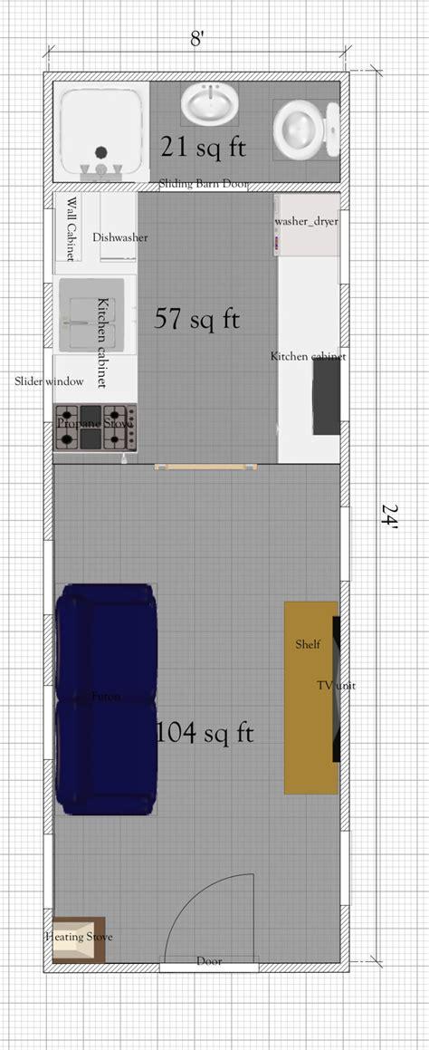tiny house plan  loft   sq ft tiny