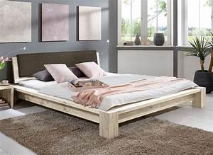Bett 180x200 Massivholz Komforthöhe : massivholz bett rustikal ~ Bigdaddyawards.com Haus und Dekorationen