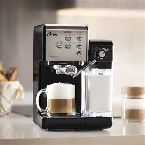 Everyone's coffee journey begins somewhere. Oster® Prima Lattee® 19-Bar Italian Pump Espresso, Cappuccino & Latte Machine - BVSTEM6701SS-033 ...