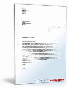 Mietvertrag Vorlage 2015 : kndigung mietvertrag durch mieter muster zum download autos post ~ Eleganceandgraceweddings.com Haus und Dekorationen