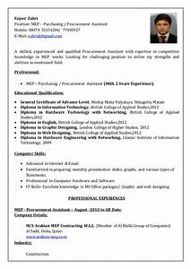 cover letter for purchasing manager - fajeer zuhri cv procurement
