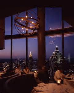 Westin Peachtree Plaza Sundial Restaurant Atlanta