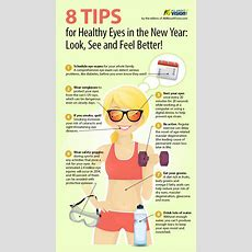8 Tips For Healthy Eyes In The New Year Visually