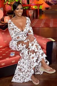 kenya moore39s feet With kenya moore wedding dress