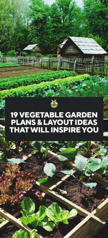 vegetable garden plans layout ideas   inspire