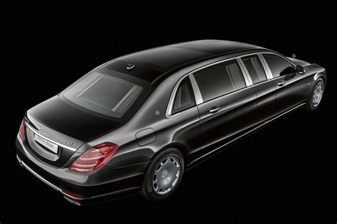2019 Mercedes-maybach S650 Pullman Is Long On Luxury