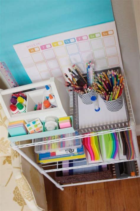 Kitchen Bookcase Ideas - diy back to school homework stations landeelu com