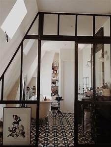 Verriere interieure la nouvelle tendance deco travauxcom for Salle de bain design avec plaque décorative plafond