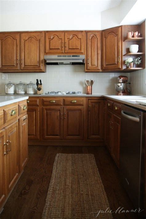 pics of kitchens with white cabinets best 25 updating oak cabinets ideas on 9096
