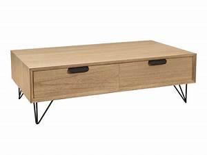 Table Basse Vintage Bois : table basse de salon que vous soyez plus design industriel ou campagne ~ Melissatoandfro.com Idées de Décoration