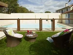 Barriere De Securite Plexiglas : cl ture homologu e en bois et plexiglass pour piscine ~ Dailycaller-alerts.com Idées de Décoration